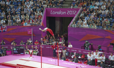 Olympics: Men's Gymnastics Team Final