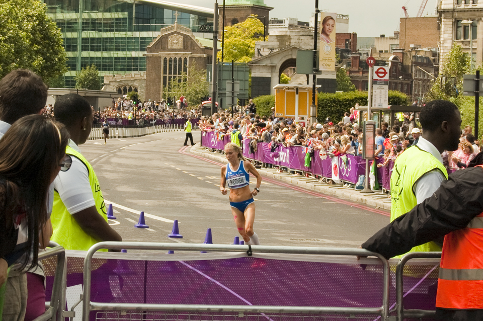 Photos of the Women's Olympic Marathon