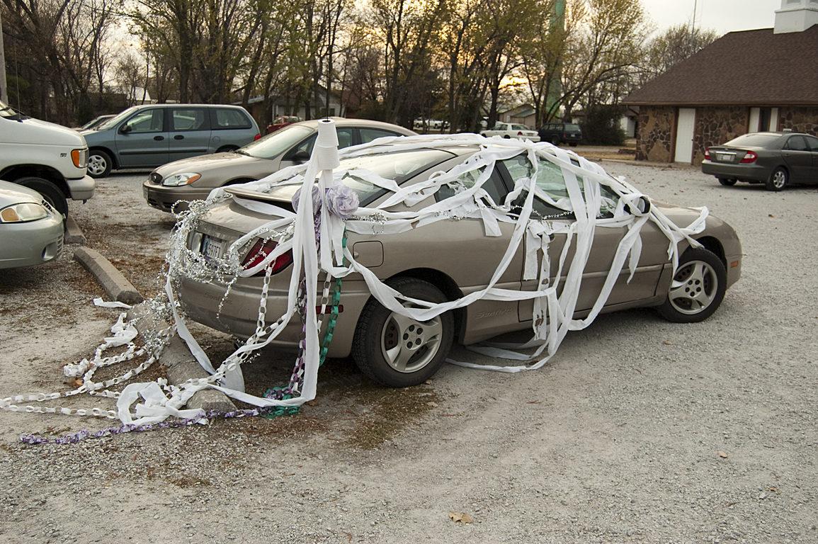 TP'ed Car