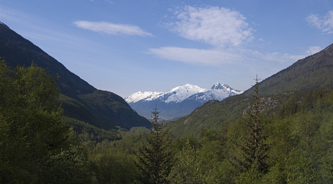 Skagway, Alaska and a Trip Up the White Pass Railroad