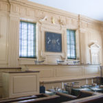 Court room of Independence Hall