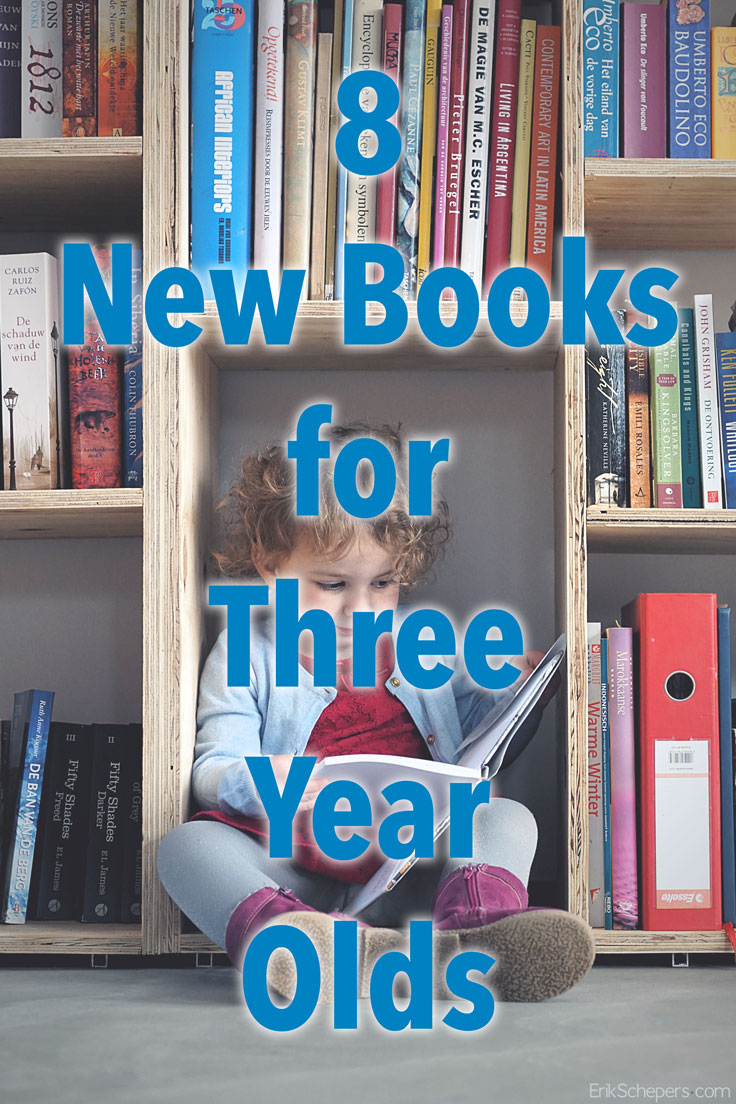 8 New Books for 3-Year-Olds